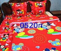 Детское постельное Микки Маус, ткань бязь Премиум