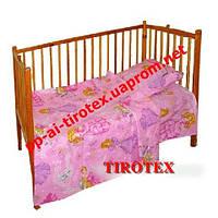 Детское постельное в кроватку«БАРБИ»
