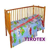 Детское постельное в кроватку«Кот Леопольд»