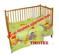 Детское постельное в кроватку« Вини Пух»