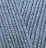 Пряжа для вязания Лана голд 203 джинс