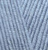 Пряжа для вязания Лана голд 221 св. джинс