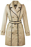 Пальто женское бежевое ,бежевий плащ на весну ,весенние пальто