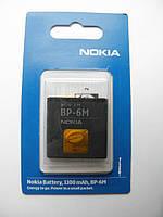 Аккумулятор для nokia bp-6m 3250, n73, n93, 6151, 6233 AAA