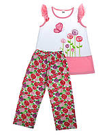 Комплект для девочки майка и бриджи ( 3 года)