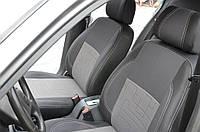 Chevrolet Lanos Чехлы на сидения автомобиля кожзам и ткань