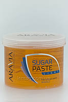 """ARAVIA Сахарная паста для депиляции """"Легкая"""" средней консистенции, 750 гр"""