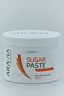 """ARAVIA Сахарная паста для депиляции """"Натуральная"""" мягкой консистенции, 750 гр"""