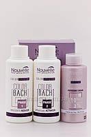 NOUVELLE X-Chromatic Color Back Средство для удаления краски с волос с нейтрализатором, Набор