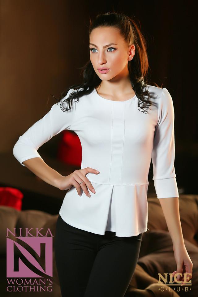Блузка С Баской Фото В Уфе