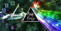 """Часы-картина """"Pink Floyd"""" 30х60 см оригинальный подарок"""