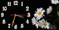 """Часы-картина """"Ромашки"""" 30х60 см красивый подарок"""