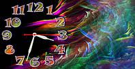 """Часы-картина """"Цветная карусель"""" 30х60 см красивый подарок"""
