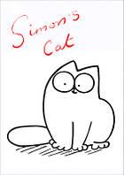 """Магнит сувенирный """"Simon's Cat"""" 04"""