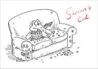 """Магнит сувенирный """"Simon's Cat"""" 07"""