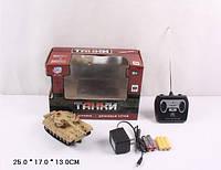 Танк радиоуправляемый на аккумуляторе Joy Toy в коробке 25х17х13см 9554А