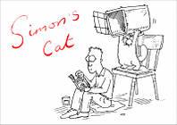 """Магнит сувенирный """"Simon's Cat"""" 09"""