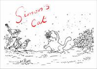 """Магнит сувенирный """"Simon's Cat"""" 11"""