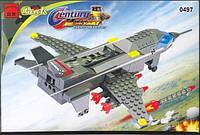 Конструктор Brick 0497 Истребитель самолет