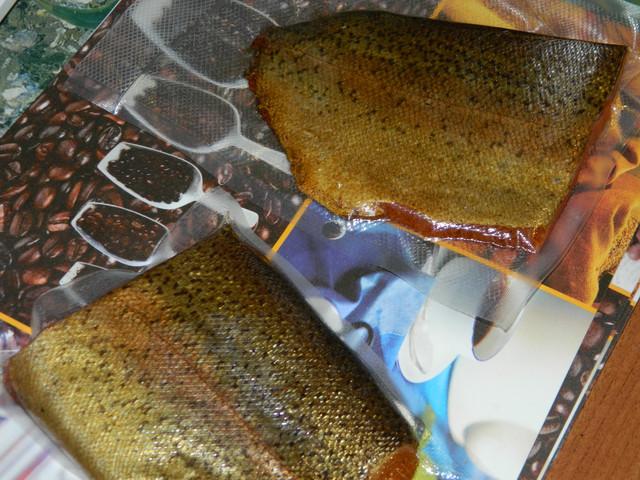 Красная рыба холодного копчения