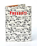 "Обложка на паспорт эко кожа ""Автомобили"""