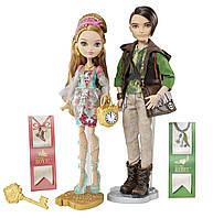 Набор кукол Ever After High Эшлин Элла и Хантер Хантсмэ (дочь Золушки с охотником)