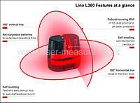 Лазерный нивелир Leica Lino L360 +