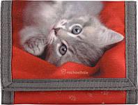 Детский кошелек для девочки с котиком Kite R14-650K