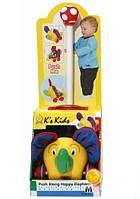 K's Kids Каталка на палочке Слоник 10306  EUT/22-995