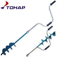 Ледобур рыболовный Барнаул (Тонар) двуручный ЛР-130Д