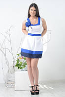 Хлопковое молодежное платье Роза, р.L, XL