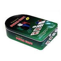 Покерный набор 120 фишек с номиналом