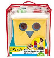 Сортер - пирамидка Сова K's Kids (Кс кидс) 10498  EUT/08-025 EUT /5-142