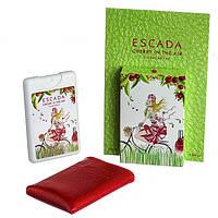 Женский мини-парфюм в чехле  Escada Cherry In The Air