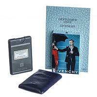 Мужской мини-парфюм в кожаном чехле  Givenchy Gentlemen Only
