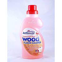 Средство для чистки и защиты полов из ламината, паркета и других поверхностей из дерева Astonis750 мл малина