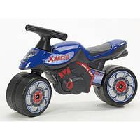 Мотоцикл Каталка X Racer Falk  401 синий