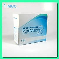 Контактные линзы Pure Vision 2 Toric (3+1) 705 грн