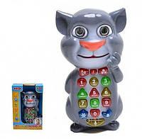 Развивающая игрушка умный телефон Кот Том на русском