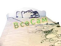 Двухспальное одеяло из овечьей шерсти /Alwero/