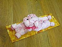 Прикольный подарок - Собачка из махровых салфеток
