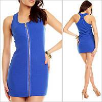 Синее платье - борцовка