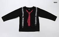 Кофта с галстуком для мальчика. 120 см