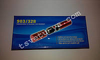 Электрошокер WS 903/328, аккумуляторный, фонарик шокер Губная помада