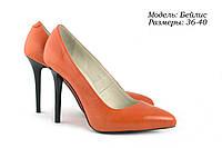 Туфли на шпильке с острым носочком, фото 1