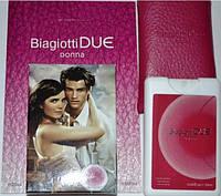 Мини парфюм в кожаном чехле Laura Biagiotti Due Donna  20 мл