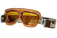 Очки-маска для мотоцикла Baruffaldi Supercompetition коричневый