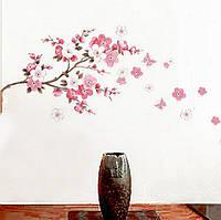 Интерьерные наклейки цветущая ветвь