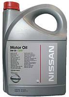 Моторное масло синтетика Nissan DPF 5w30 5л