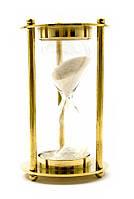 Часы песочные из бронзы